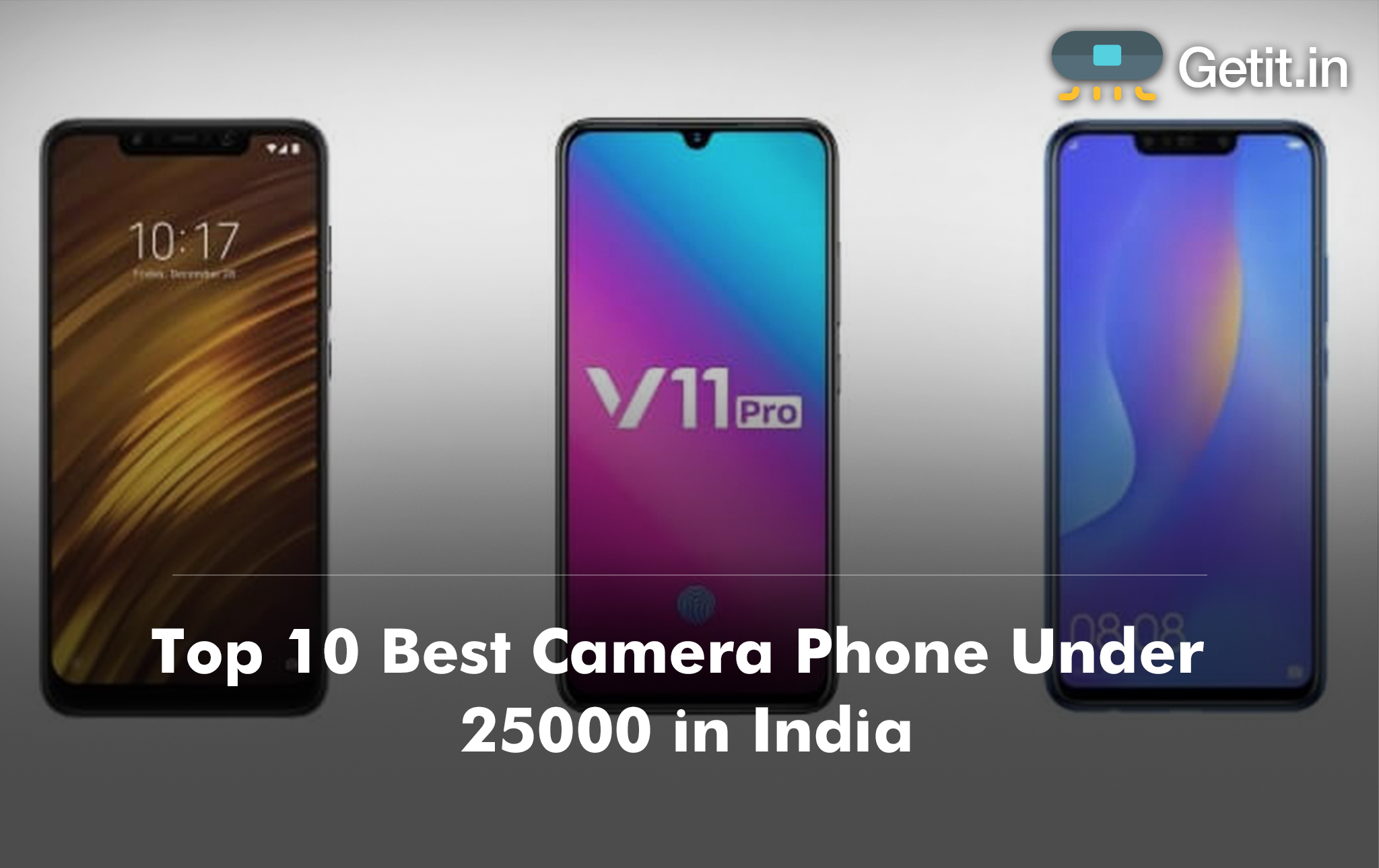 Top 10 Best Camera Phone Under 25000 in India