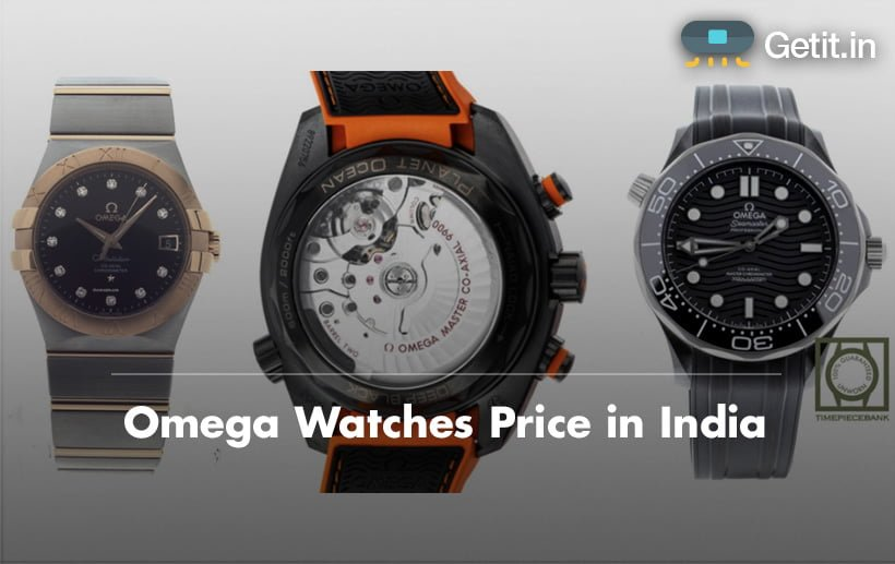 Omega watches price in india