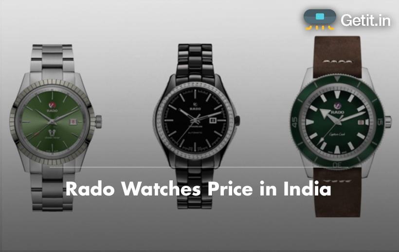 Rado watches price in india