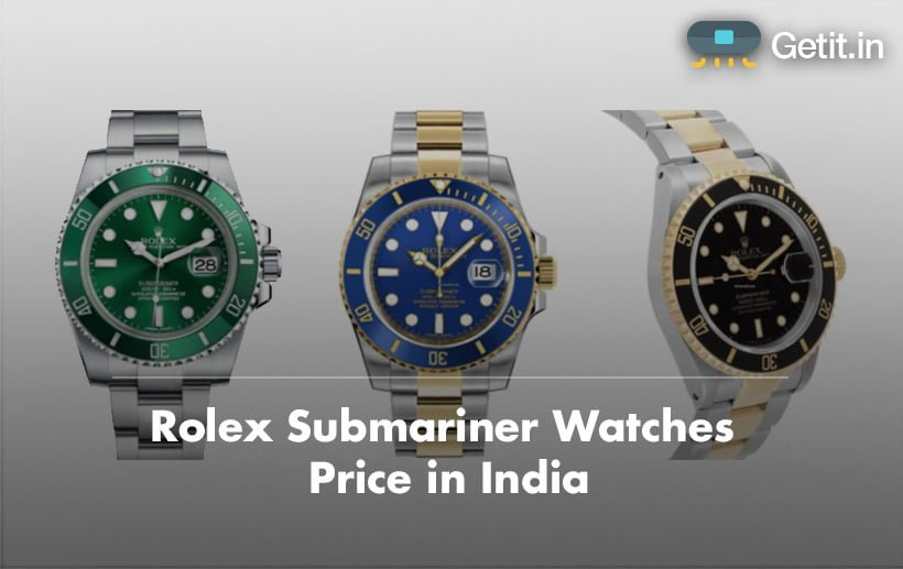 Rolex Submariner Price in India
