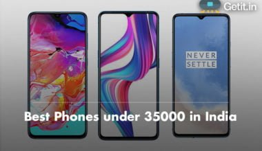 Best Phones under 35000 in India